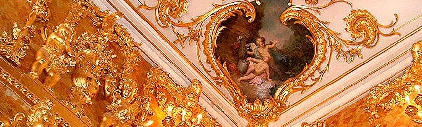 Voyage au pays de l ambre la chambre d ambre monde des pierres - La chambre d ambre photos ...