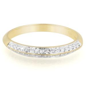 Bijoux amour chez Juwelo. Bague en or et diamant.