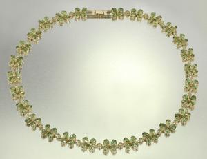 Collier en or et Apatite de Russie - Juwelo bijouterie en ligne.