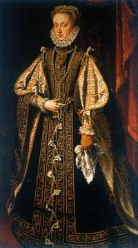 Anne d' Autriche portant El Estanque