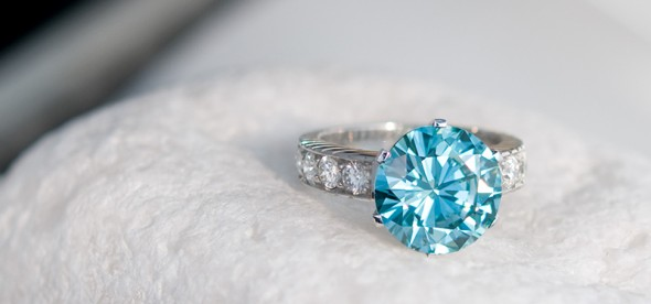 Diamant bleu Juwelo bijouterie en ligne