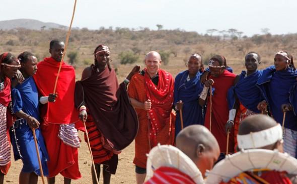 Don Kogen chasseur de pierres précieuses en Tanzanie