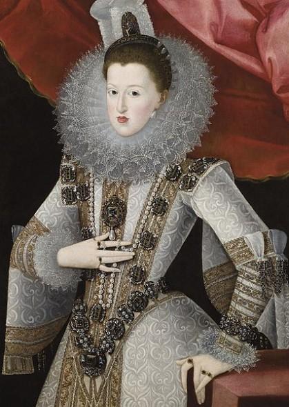 Margarette d'Autriche portant El Estanque