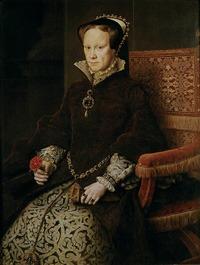 Marie Tudor portant El Estanque