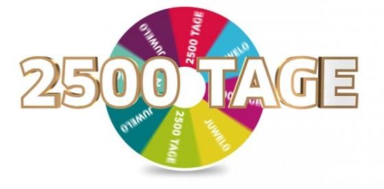 Roue de la fortune pour fêter les 2500 jours de Juwelo votre bijouterie en ligne.