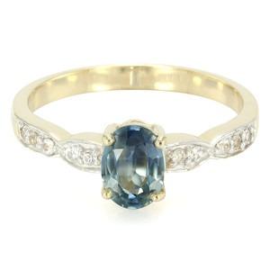 Bague en Saphir de de Kanchanaburi et or sur Juwelo votre boutique de bijoux préférée