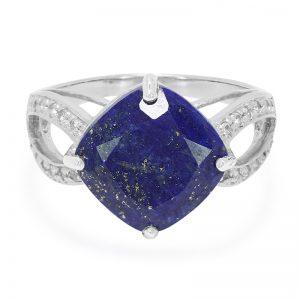 une bague en Lapis-Lazuli disponible sur la bijouterie en ligne juwelo