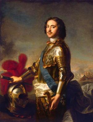 Le tsar peter le grand et ses Rubellites