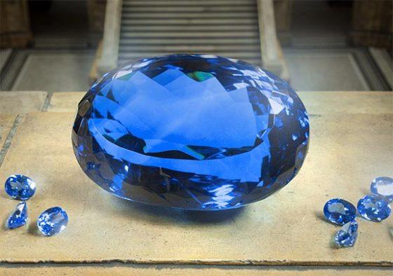 La plus grosse topaze bleue du monde