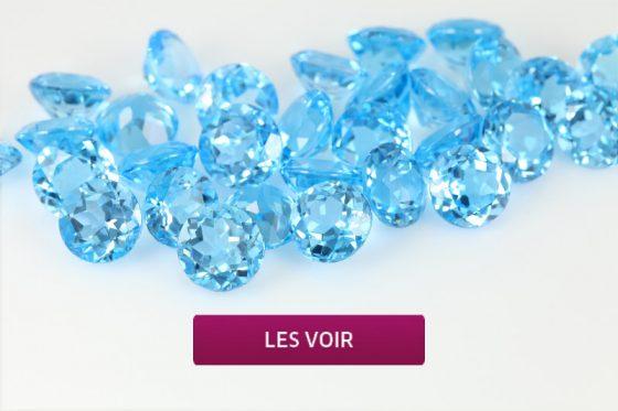 Topazes bleues