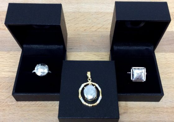 Bijoux juwelo en météorite