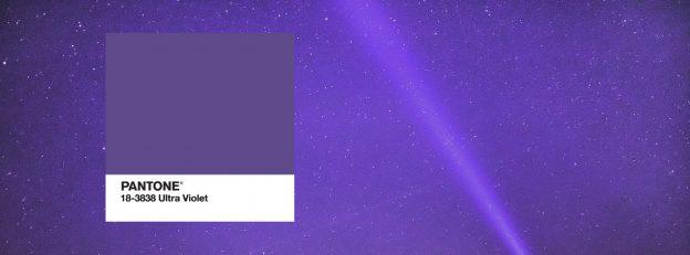 Ultra violet couleur pentone 2018